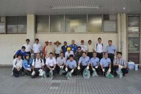 8月9日『ごみゼロ大作戦@芦原橋』を開催しました。