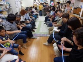 夏のボランティア体験 手話でコミュニケーション(手話サークル 帆船)