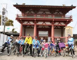 天王寺の魅力発見サイクリングのライドリーダー募集