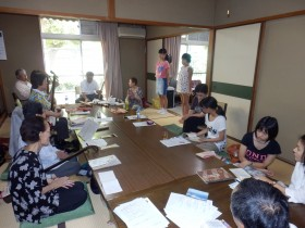夏のボランティア体験 日本民謡の練習体験♪(日本民謡 八昇会)
