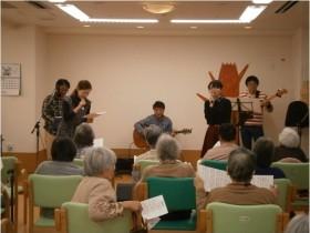 出前!ボランティア音楽演奏!!