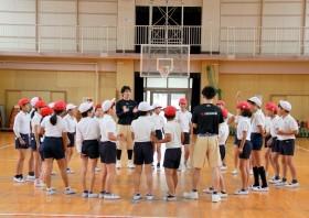 さくら・夢授業バスケットボール教室