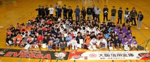 「大阪エヴェッサ」スポーツイベントに協賛