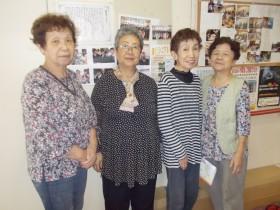 【西成区の事例】 エネルギッシュな高齢者女性たちが企画・広報の中枢を担い、さまざまな活動を展開する「北津守地域活動協議会」。