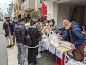 ベトナム人留学生・実習生向け食料支援