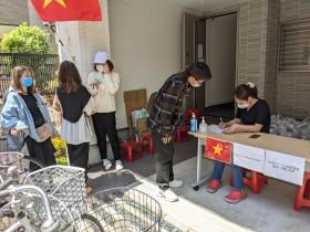 第3回在大阪ベトナム人のための食料支援