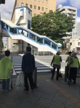 大阪港 地域のゴミをみんなで拾う 子供が変われば大人は変わる