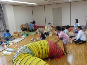 夏のボランティア体験  遊びを豊かに♪(港区おもちゃ図書館 ひまわり)