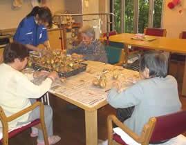 高齢者との交流体験