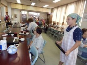 夏のボランティア体験 高齢者食事サービス(ボランティアグループ ひまわり)