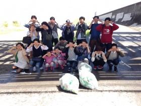 4/14 大阪でゴミ拾いのボランティア募集