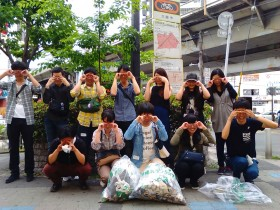 若者:大阪でゴミ拾いのボランティア募集