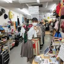 【平日】古着販売で楽しくチャリティショップ体験